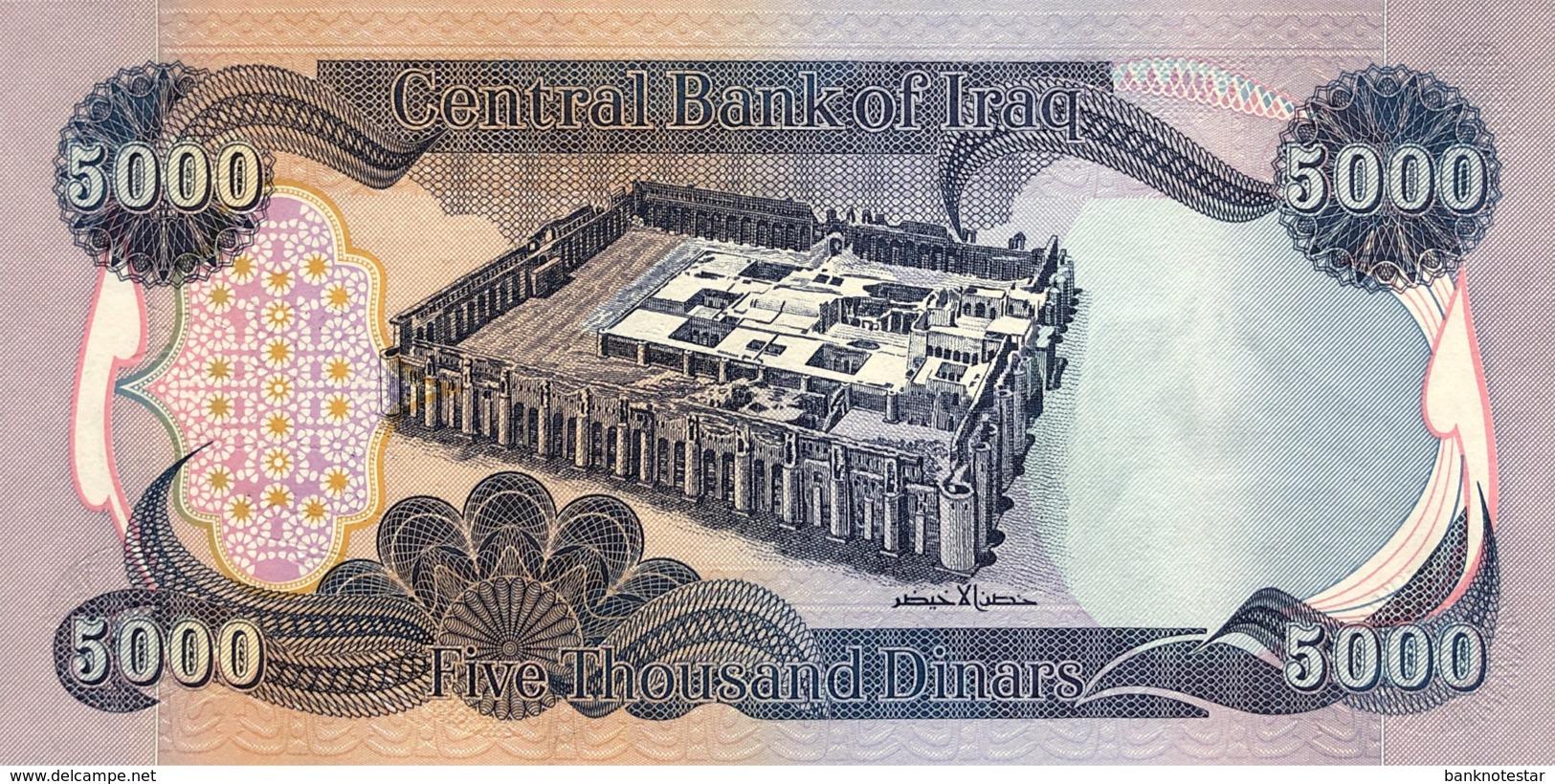 Iraq 5.000 Dinars, P-94a (2003) - UNC - Iraq