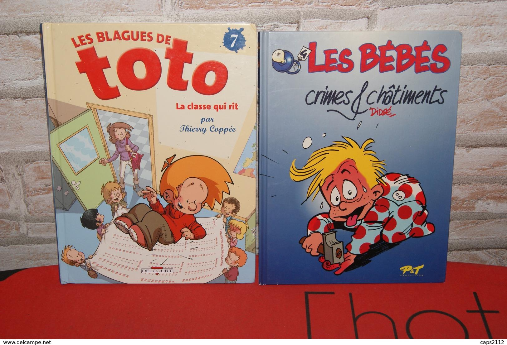 Lot Bd TOTO Et LES BEBES - Books, Magazines, Comics