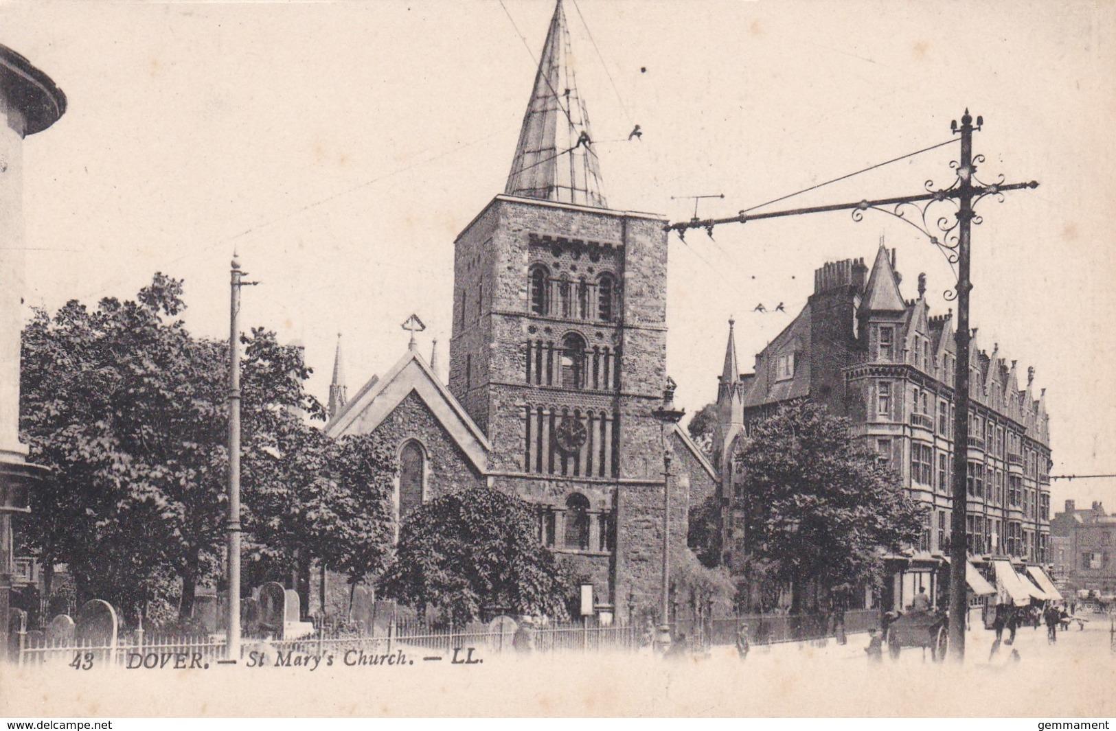 DOVER - ST MARYS CHURCH. LL 43 - Dover