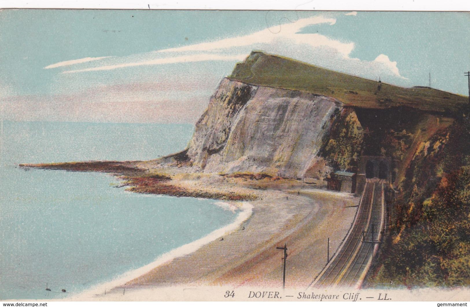 DOVER - SHAKESPEARE CLIFF   LL 34 - Dover