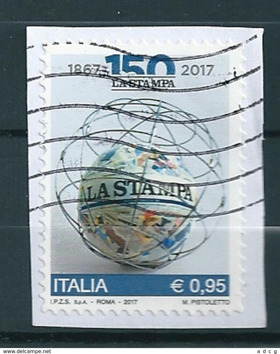 2017 LA STAMPA USATO - 2011-...: Oblitérés