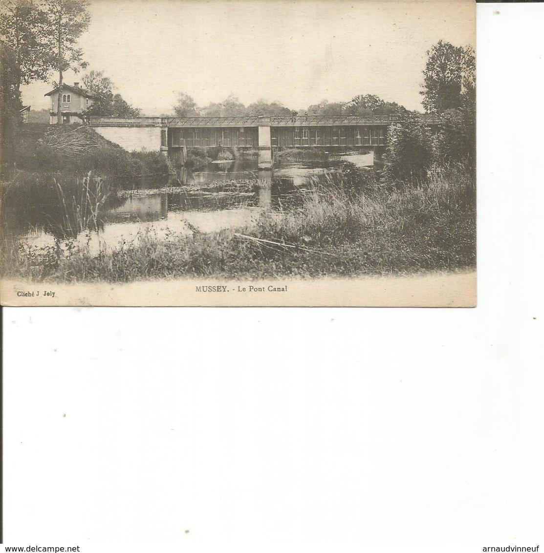 52-MUSSEY LE PONT CANAL - Frankreich