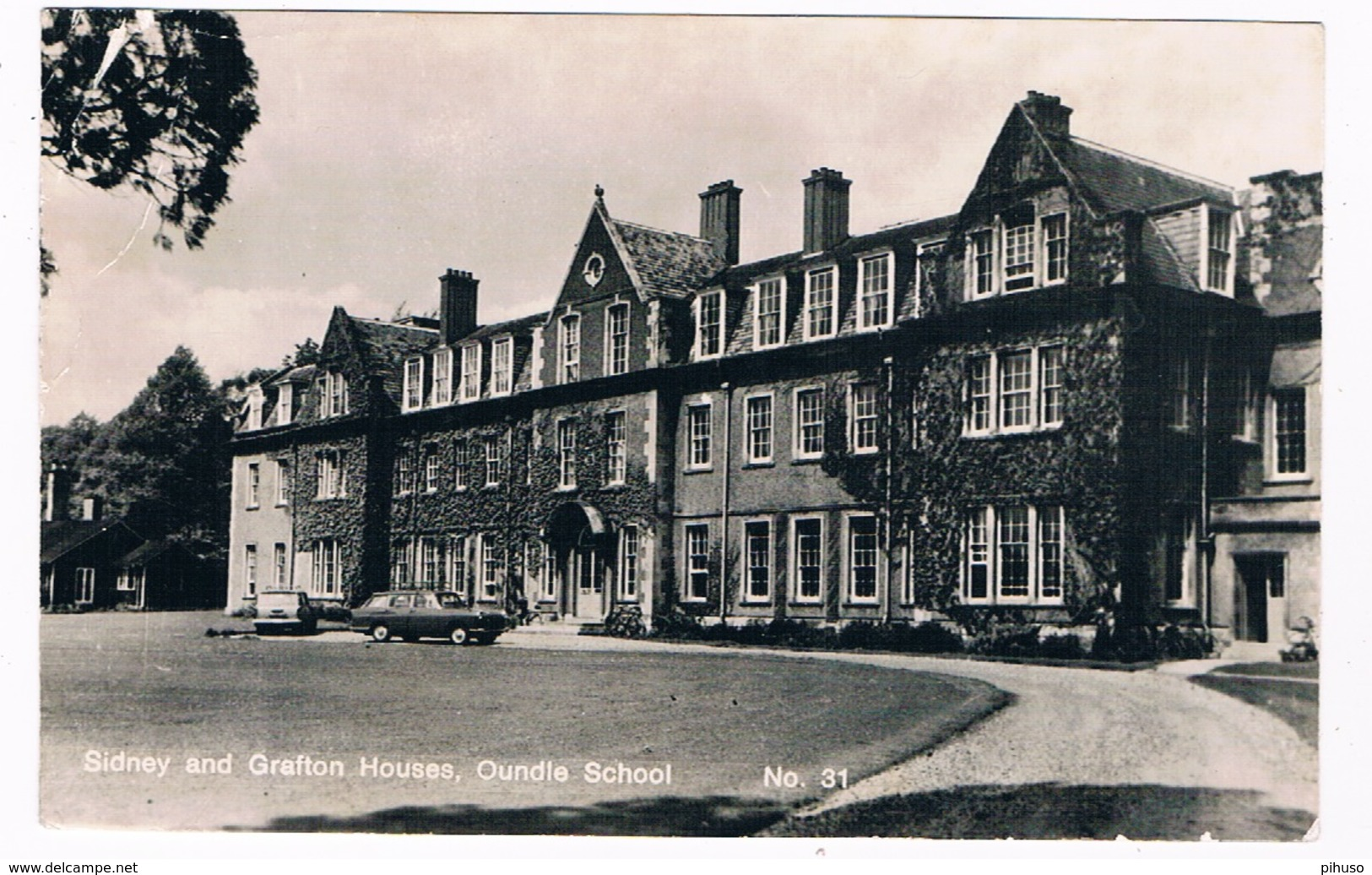 UK-3131    OUNDLE : Oundle School - Sidney And Grafton Houses - Northamptonshire