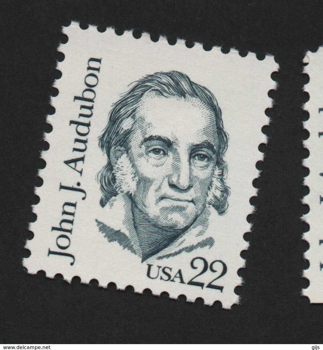 USA 837 MICHEL 1749 A TD.10 3/4 + 1749 F TD.11 1/4X11 - Estados Unidos