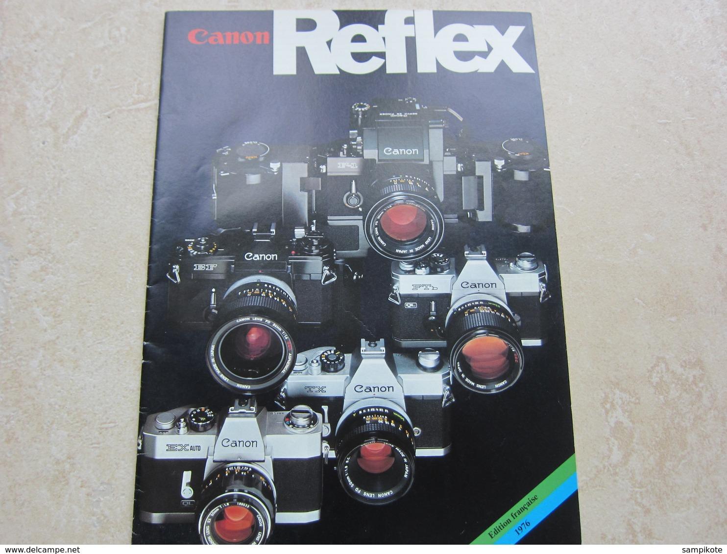 Catalogue Publicité CANON REFLEX Edition Française 1976 - Materiale & Accessori