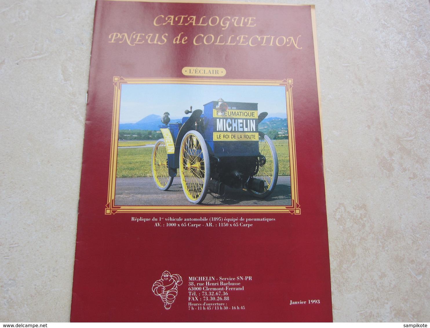 Catalogue Publicité MICHELIN Pneux De Collection 1993 - Auto/Moto