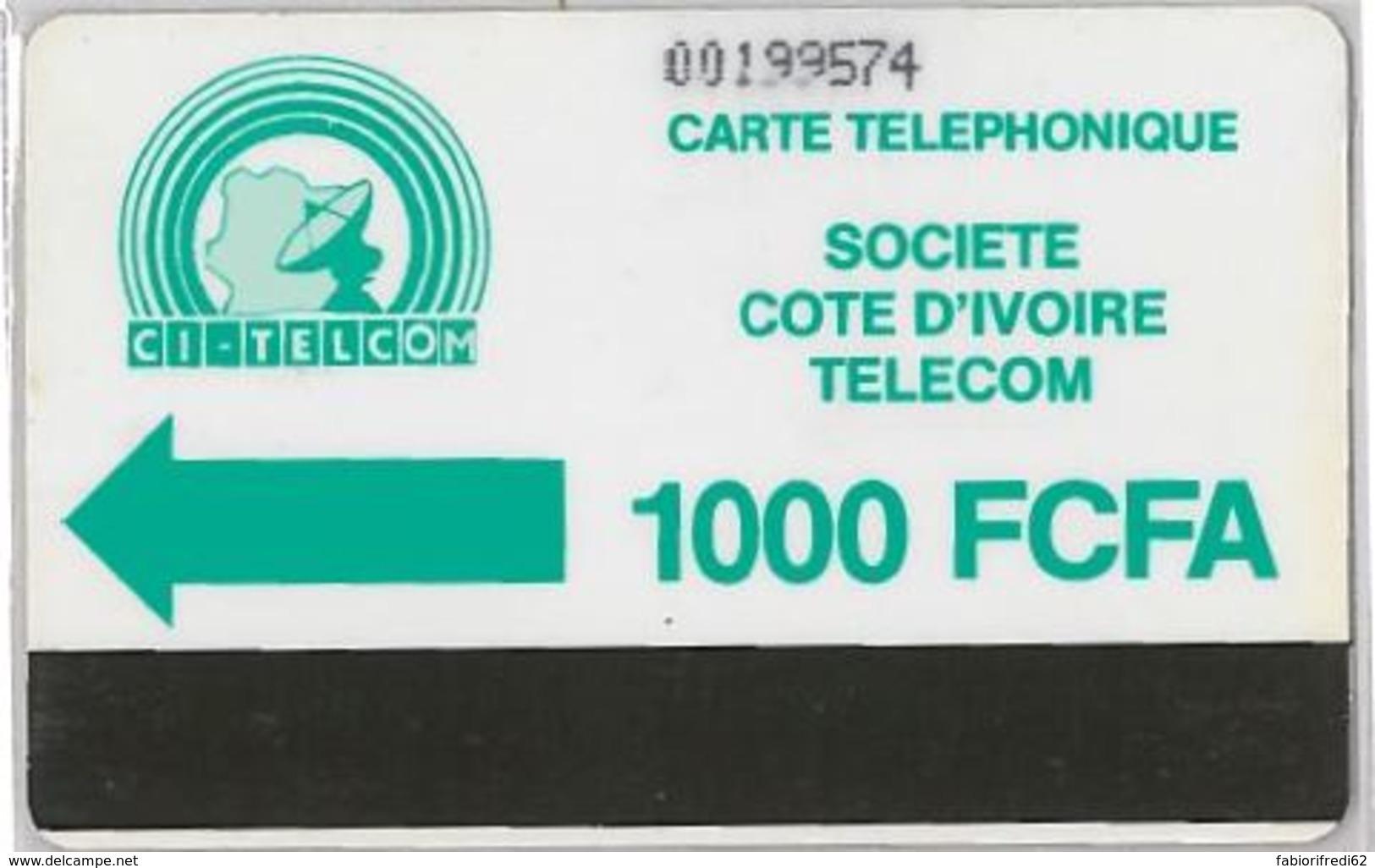 PHONE CARD - COSTA D'AVORIO (E36.3.3 - Côte D'Ivoire