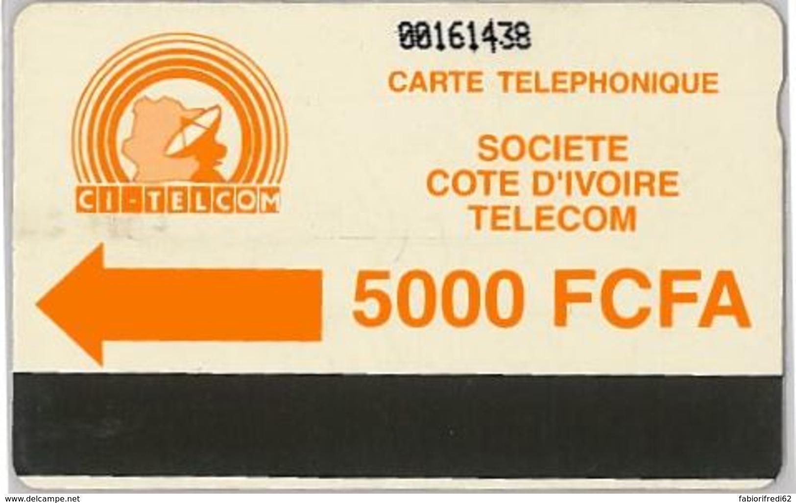 PHONE CARD - COSTA D'AVORIO (E36.3.5 - Costa D'Avorio