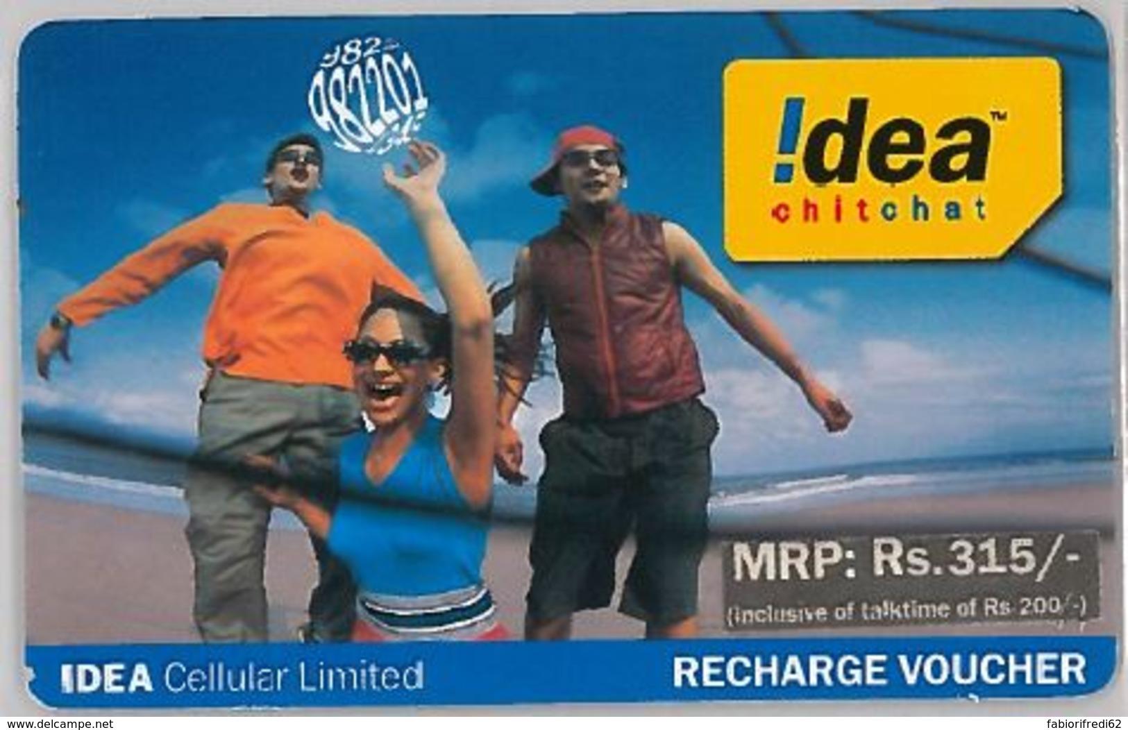 PREPAID PHONE CARD-INDIA (E36.27.2 - India