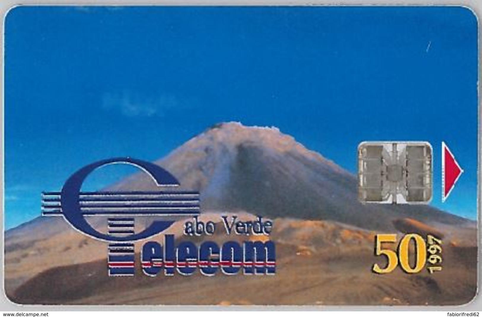 PHONE CARD - CAPO VERDE (E38.14.8 - Cap Vert