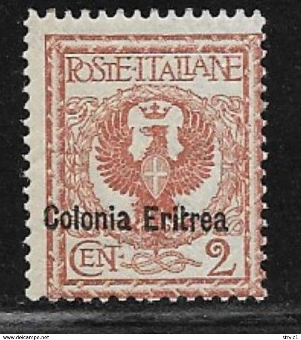 Eritrea Scott # 20 MNH Italy Stamp Overprinted,1903 - Eritrea