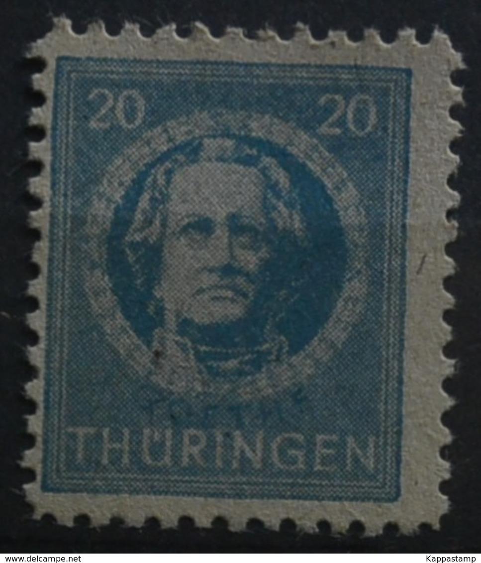 Z.S.Thuringen.mi.98ay MNH** Vedi Scansione (76/2 - Sowjetische Zone (SBZ)