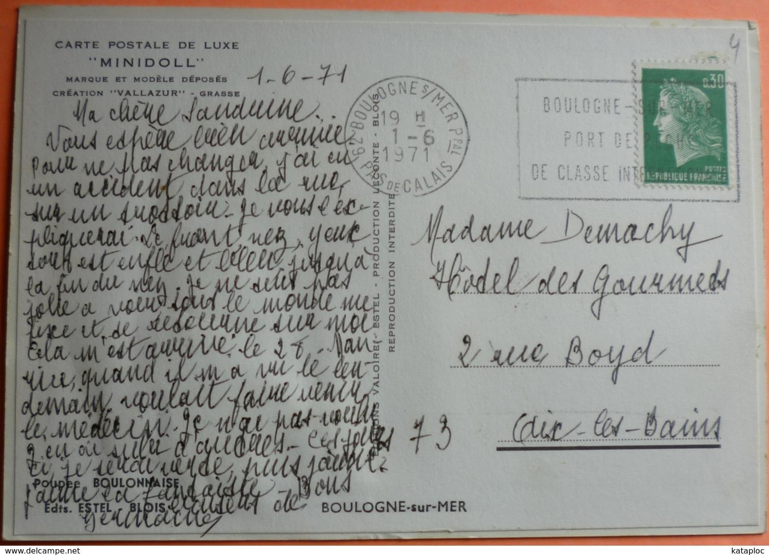 CARTE MINIDOLL - POUPEE BOULONNAISE - BLOIS - 41 - SCAN RECTO/VERSO - 7 - Blois