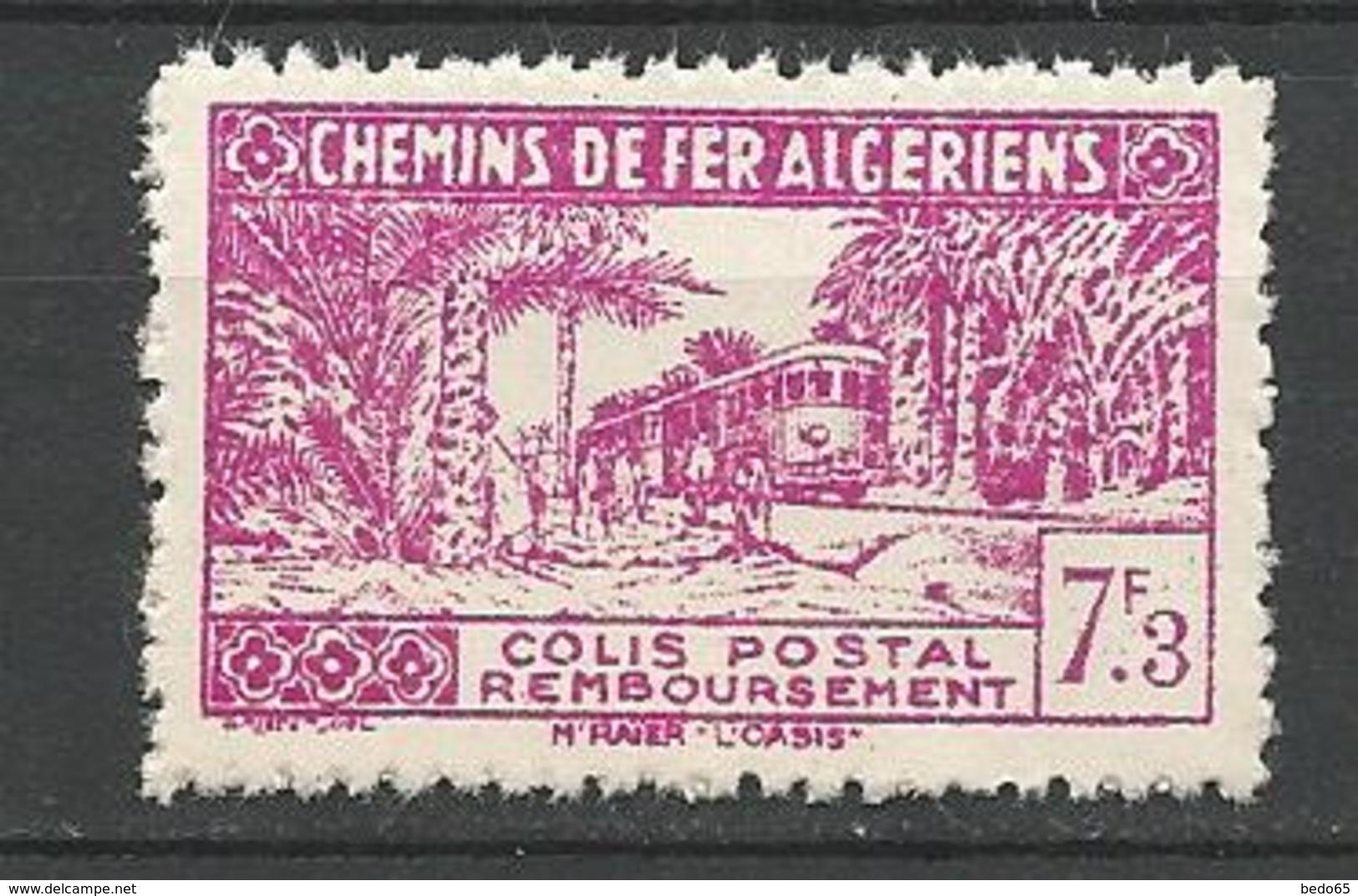 ALGERIE COLIS POSTAUX N° 153 SANS SURCHARGE NEUF** LUXE  SANS CHARNIERE  / MNH - Algérie (1924-1962)