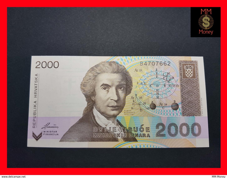CROATIA 2.000 Dinara 15.1.1992  P. 23  UNC - Croatie