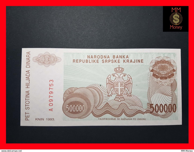 CROATIA 500.000 Dinara 1993 P.  R 23 - Croatie