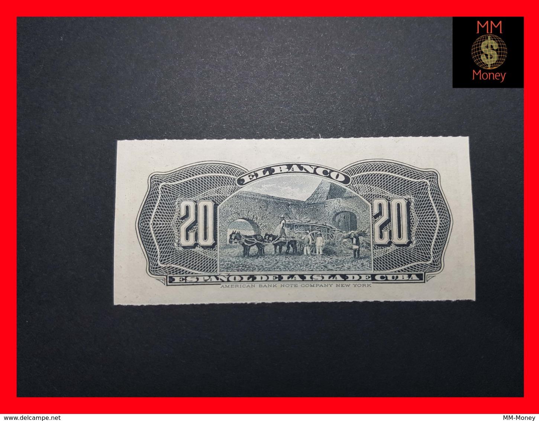 CUBA 20 Centavos 15.2.1897  P. 53  UNC - Cuba