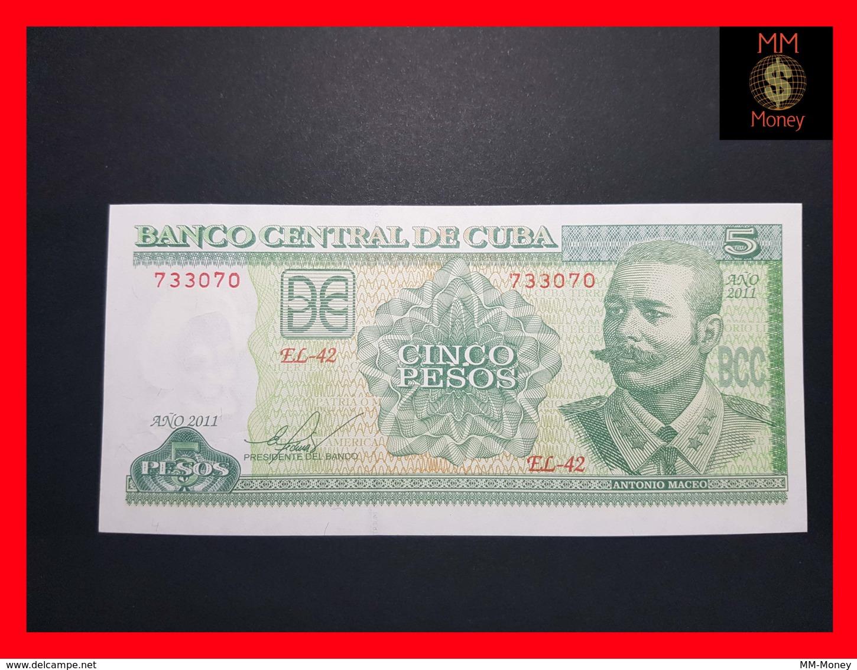 CUBA 5 Pesos 2011  P. 116  UNC - Cuba