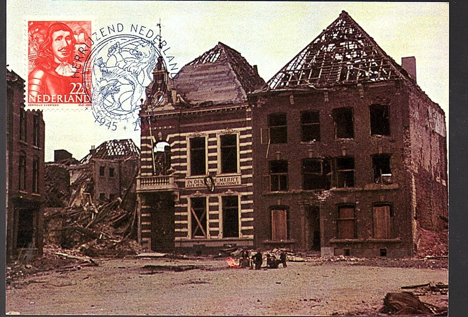 Bombardement Venlo 13 Okt 1944 (2016) (AP69) - Periode 1891-1948 (Wilhelmina)