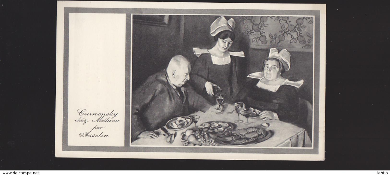 Riec Sur Belon (29) Cuisine - Curnonsky Chez Mélanie - Repas N°6 Pour Les Docteurs Voyagée 1942 - France