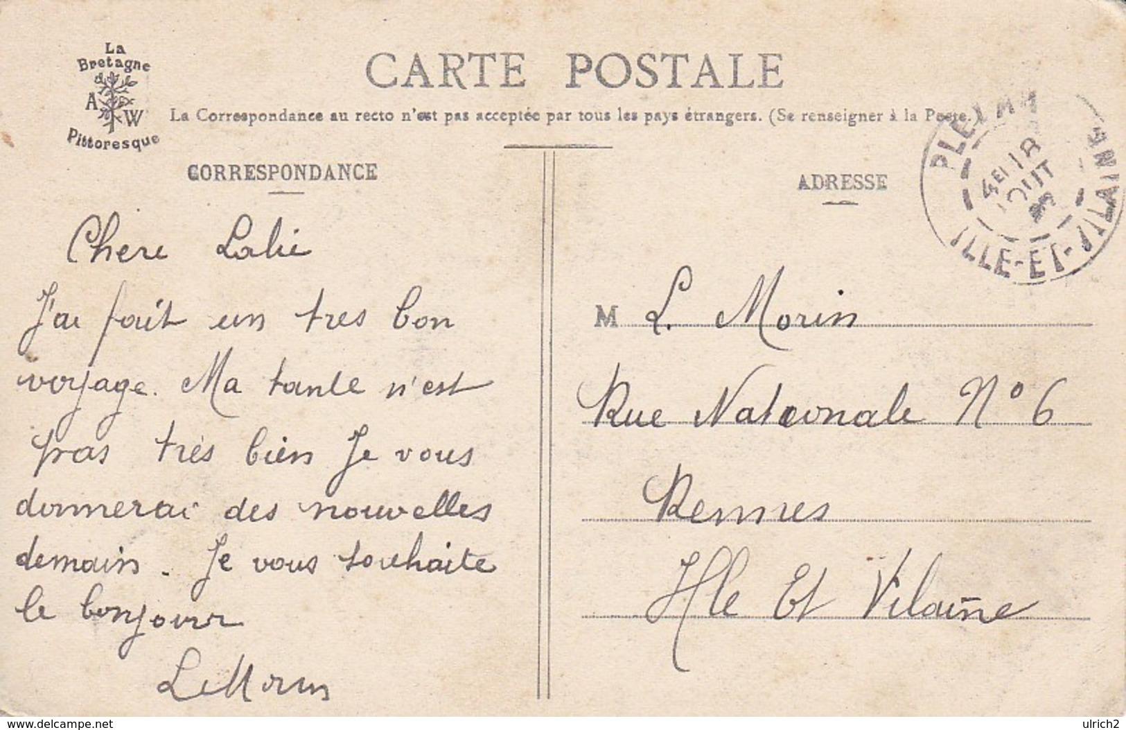 CPA Forêt De Paimpont - Sabotière Au Travail - 1907 (38379) - Paimpont