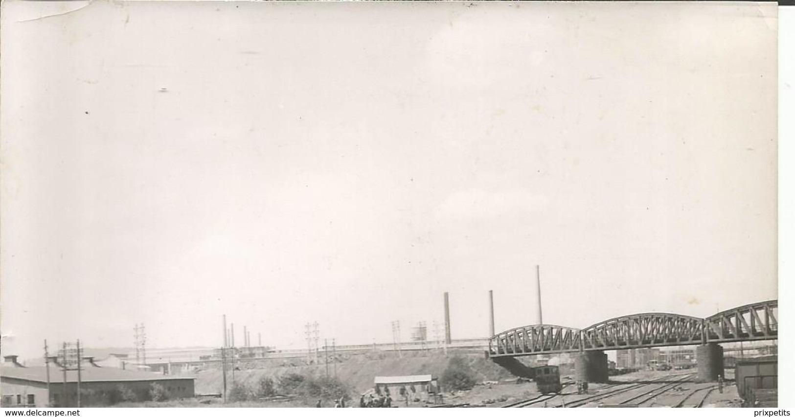 PHOTO AERIENNE HAGONDAN OU ENVIRON ? CONSTRUCTION Ligne Se Chemin De Fer USINE SIDERUGIE N°  Ph 4 ° - France