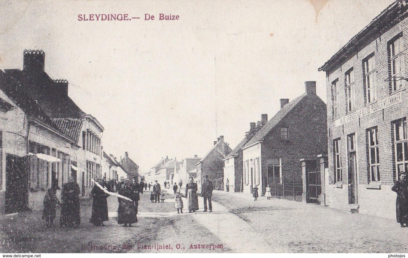 CPA  : Sleydinge Sleidinge Evergem (Belgique) De Buize   Ed Hendrix    Non Voyagée     Rare - Other