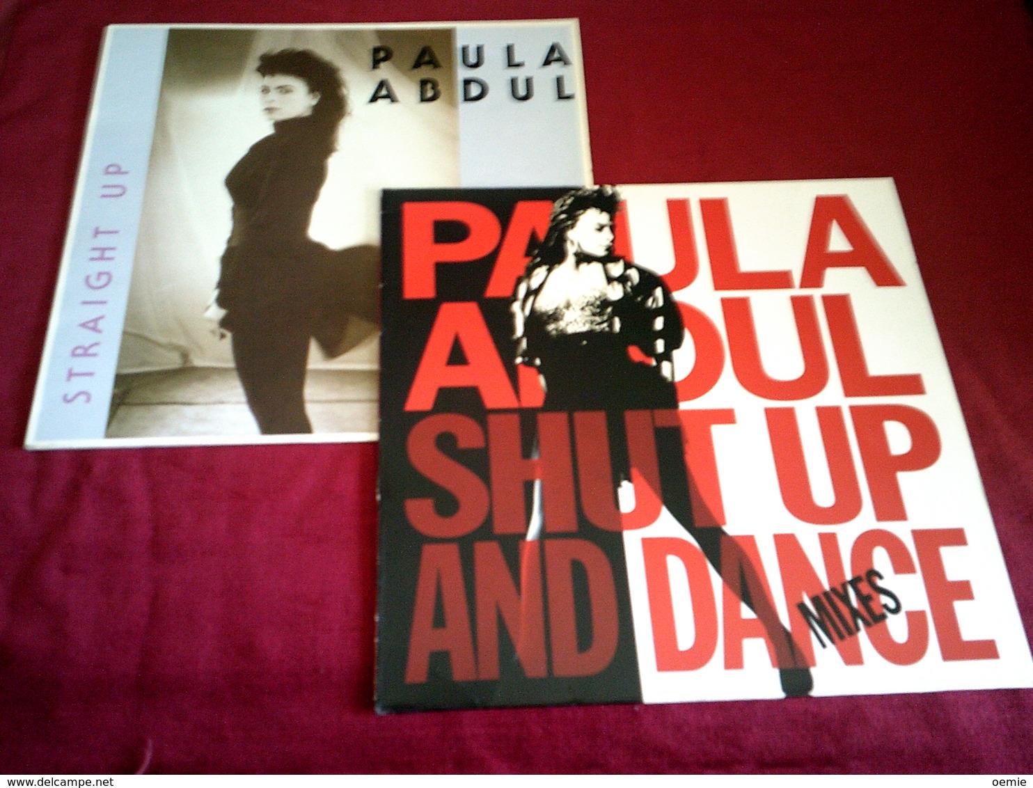 PAULA  ABDUL °°°° COLLECTION DE 5 DISQUE VINYLE - Collections Complètes