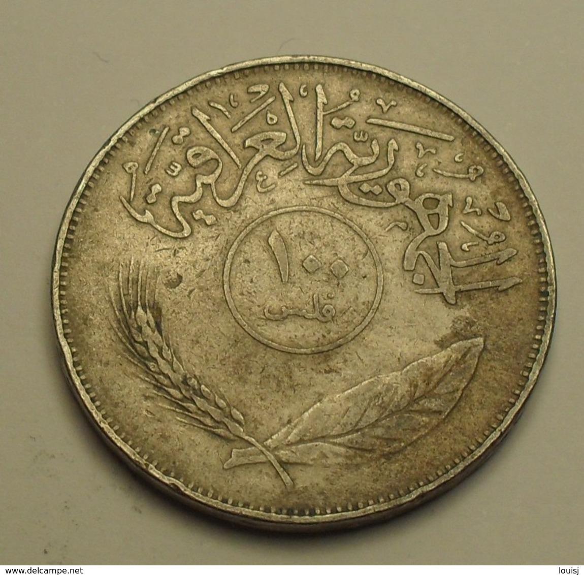 1970 - Irak - Iraq - 100 FILS - KM 129 - Iraq