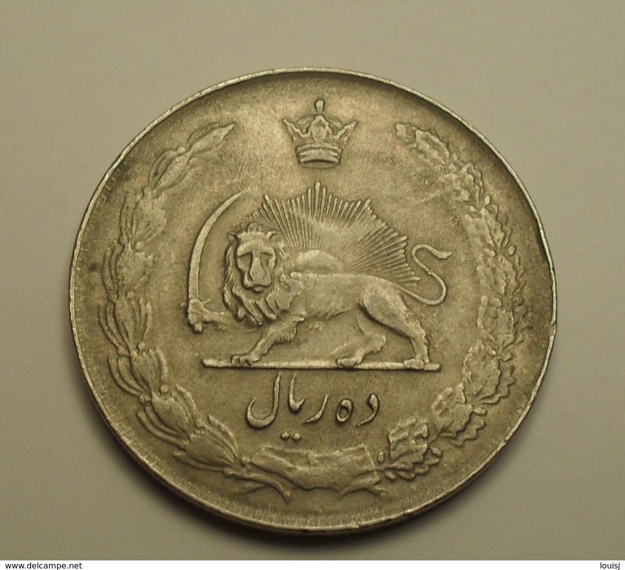 1956 - Iran -1335 - 10 RIALS - KM 1177 - Iran