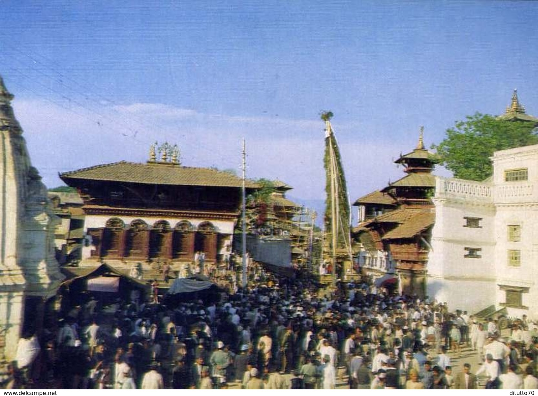 Chariot Festival Of  Machehendranath - Nepal - Formato Grande Non Viaggiata – E 9 - Nepal