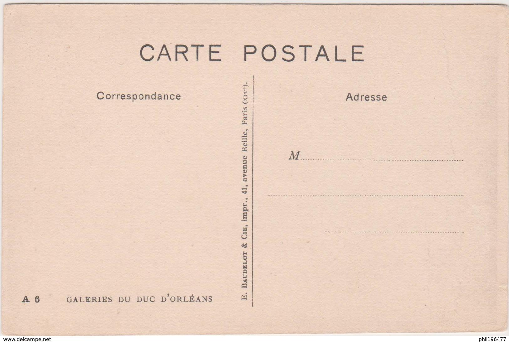 Ours - Cpa / Galeries Du Duc D'Orléans. - Ours