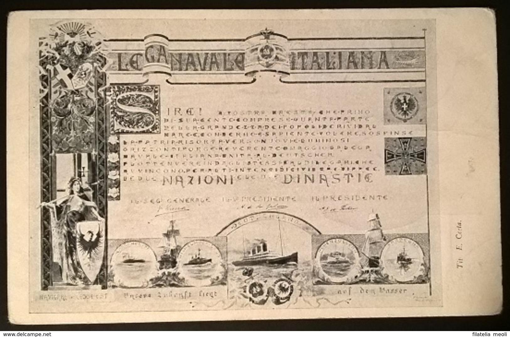 LEGA NAVALE ITALIANA - Guerra