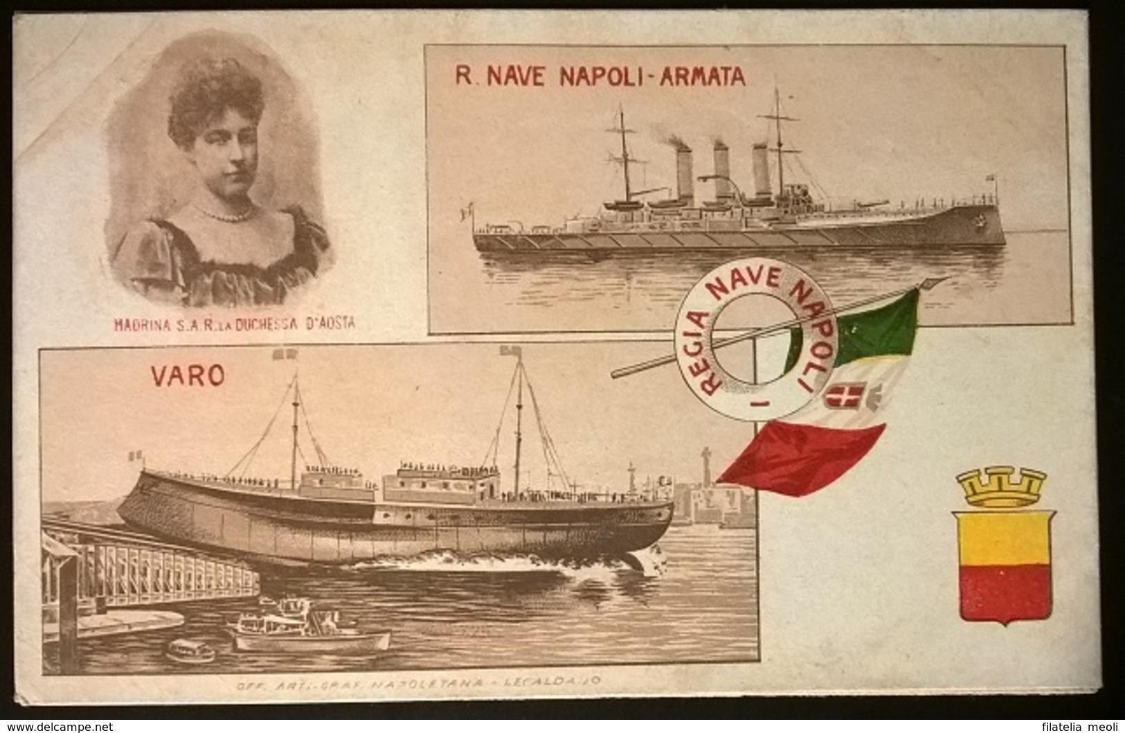 REGIA NAVE NAPOLI - Guerra