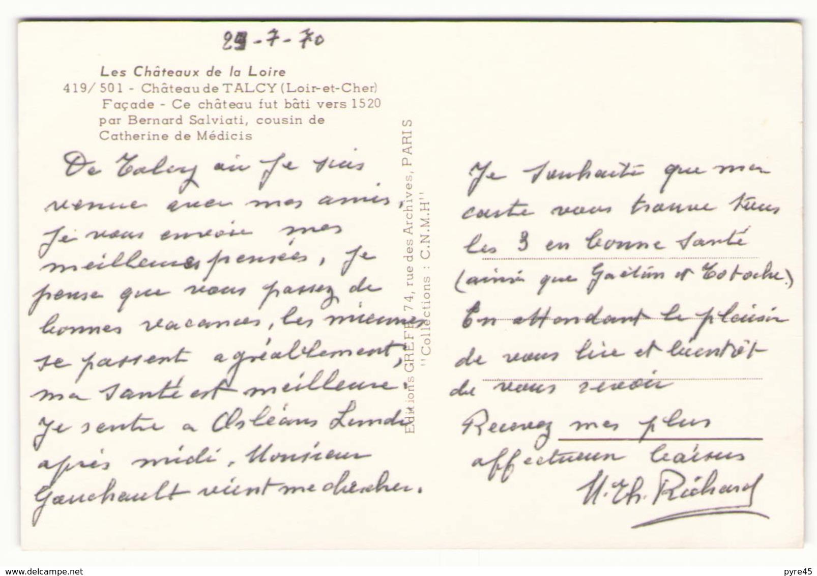 LE CHATEAU DE TALCY 41 - France