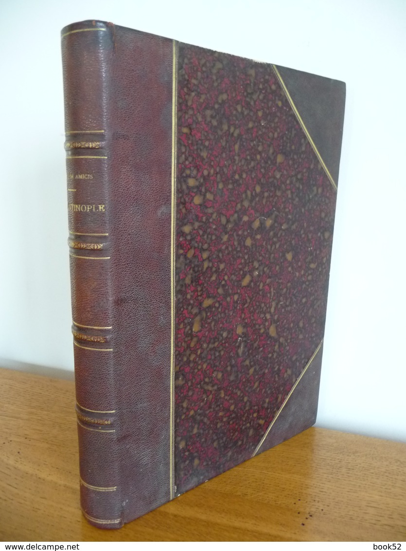 CONSTANTINOPLE Par Edmondo De Amicis (1883) - Livres, BD, Revues