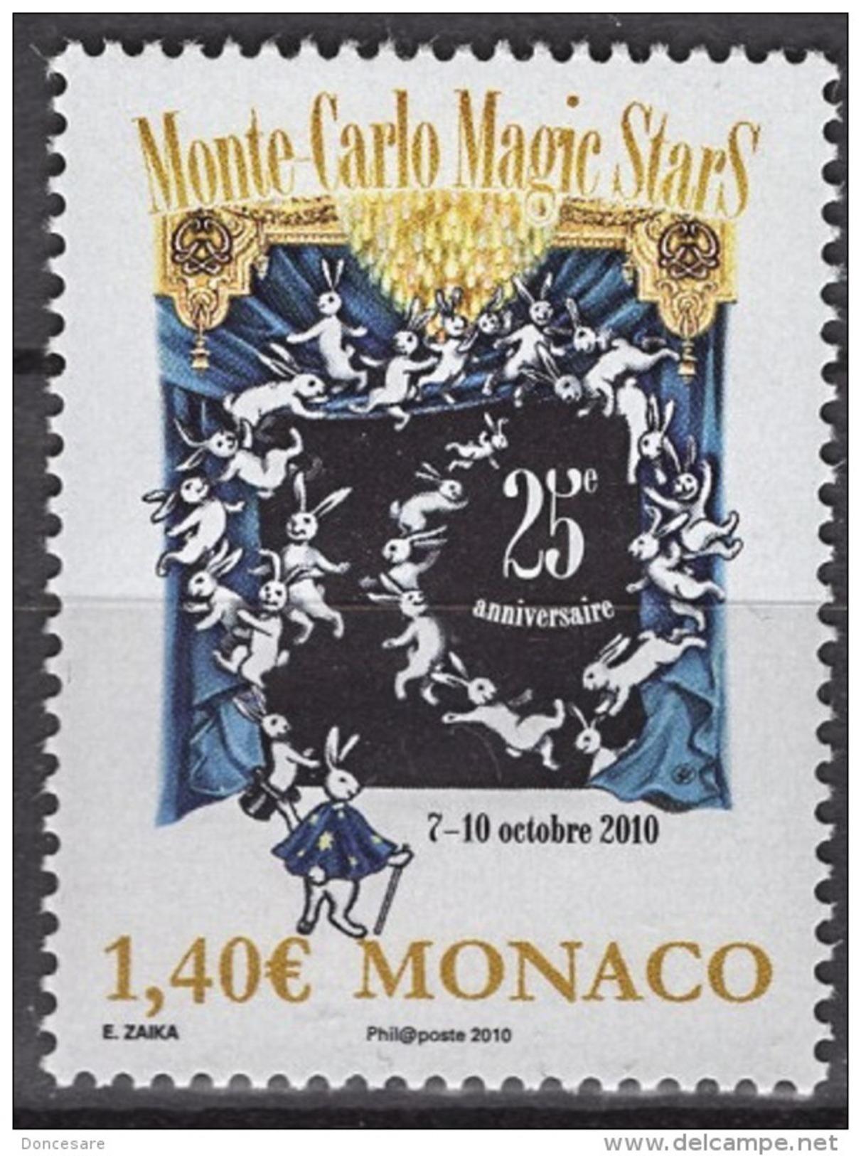 MONACO 2010  - Y.T. 2751 - NEUF ** - Monaco