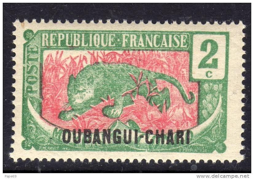 Oubangui N° 26  XX 2 C. Vert Et Rose, Sans Charnière TB - Ungebraucht