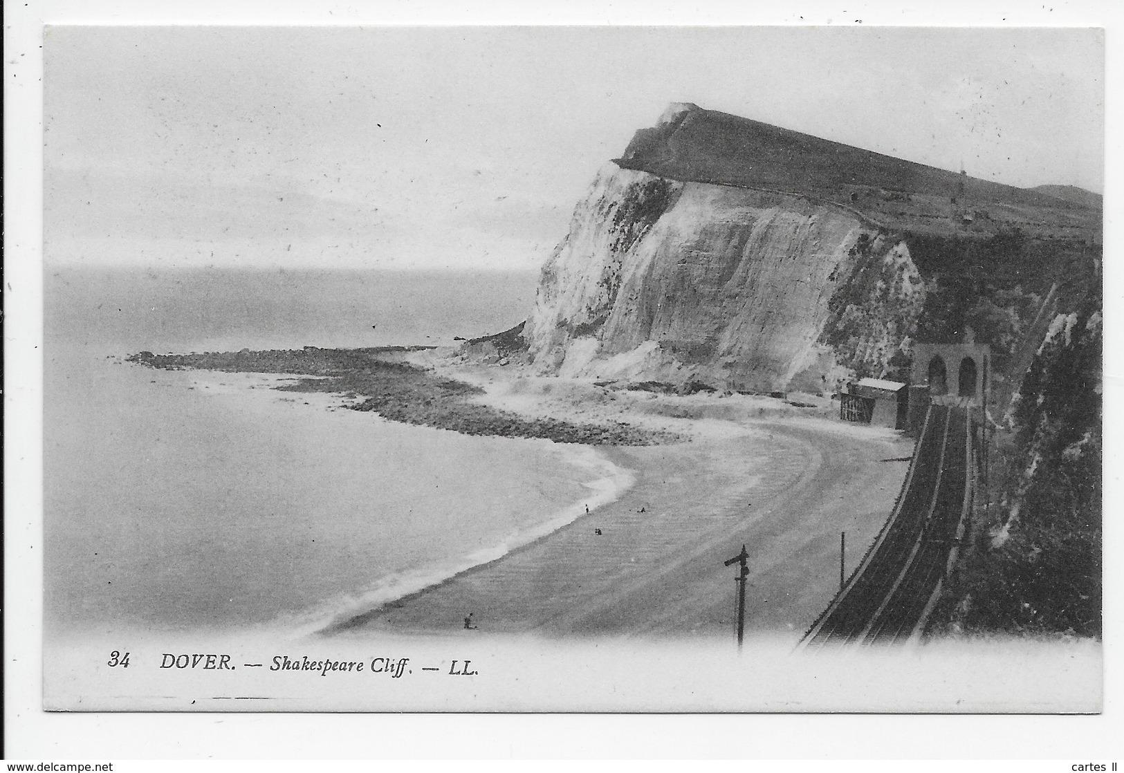 DC 1360 - DOVER - Shakespeare Cliff- LL 34 - Dover