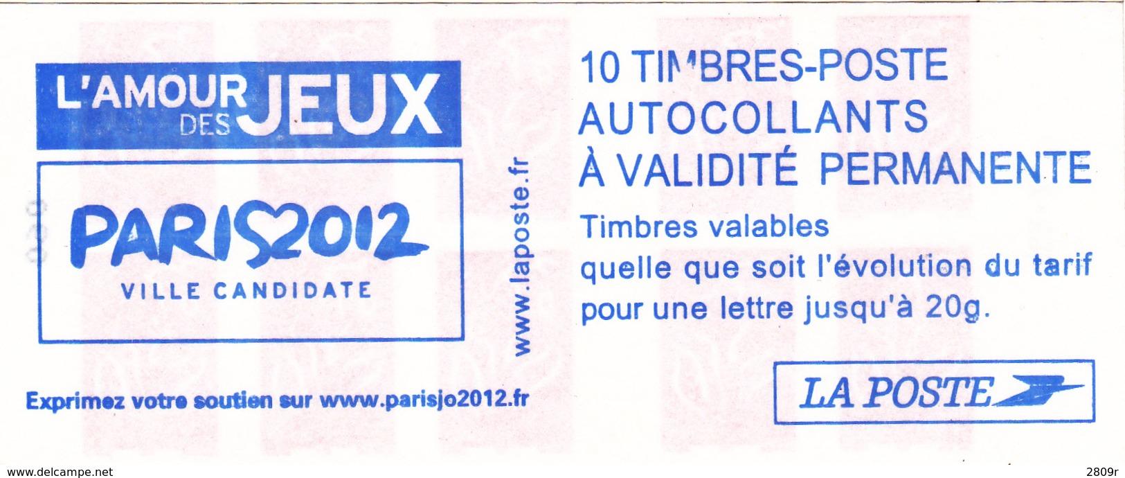 3744-C1 Paris 2012 Mariane De Lamouche - Carnets