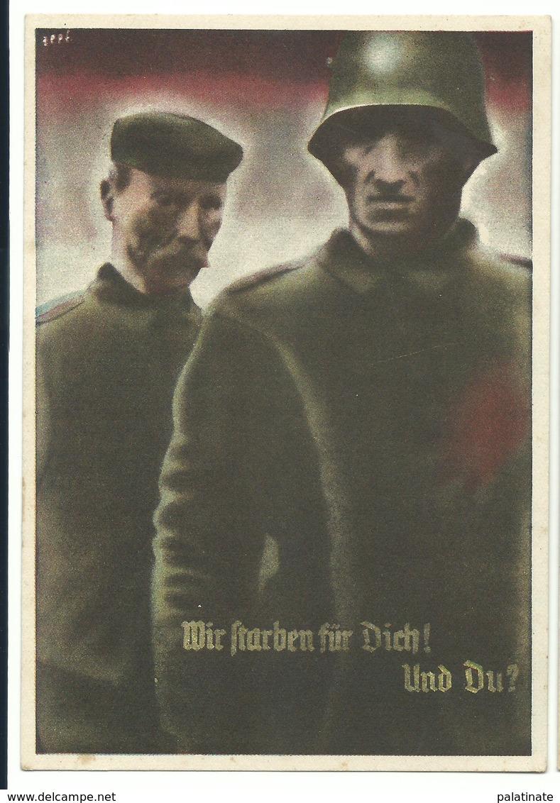 """Saarabstimmung """"Wir Starben Für Dich Und Du?""""  1935 - Militaria"""