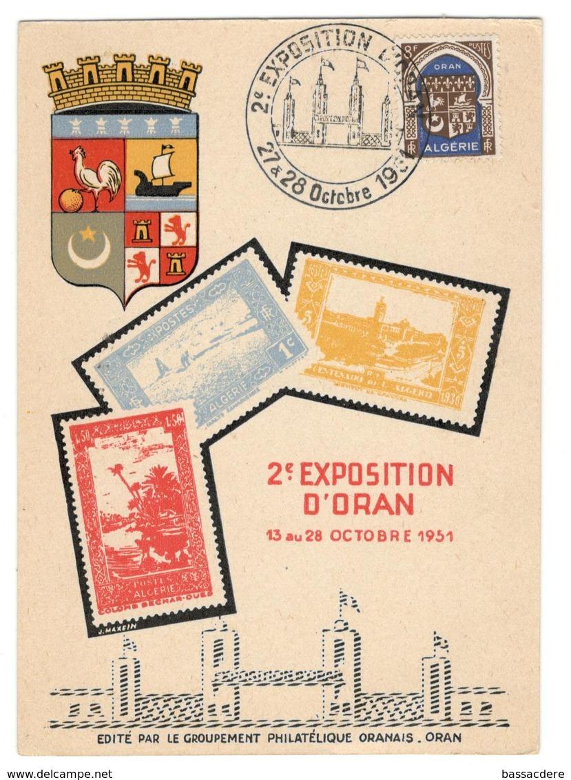 11852 - 2e EXPOSITION ORAN - Algeria (1924-1962)