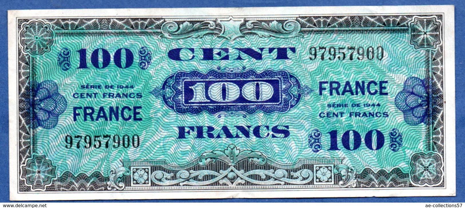 100 Francs 1945  - état  TTB  - - Treasury