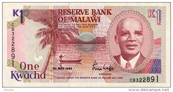 Malawi 1 Kwancha 1992  Pick 23b UNC - Malawi