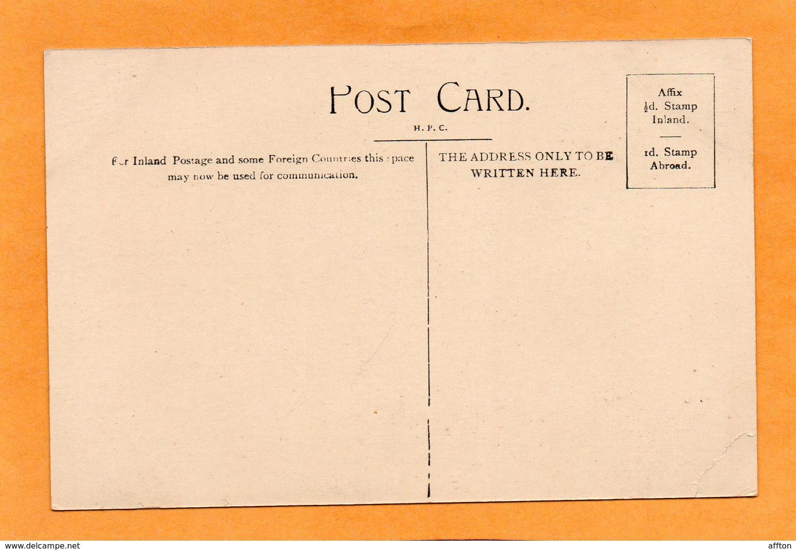 Antigua WI 1905 Postcard - Antigua & Barbuda