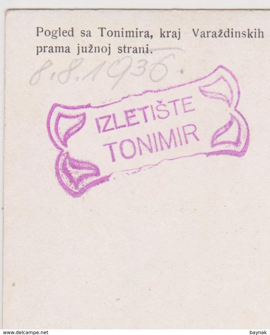 CRO1704  ~  VARAZDINSKE TOPLICE ~  POGLED SA TONIMIRA - Kroatien