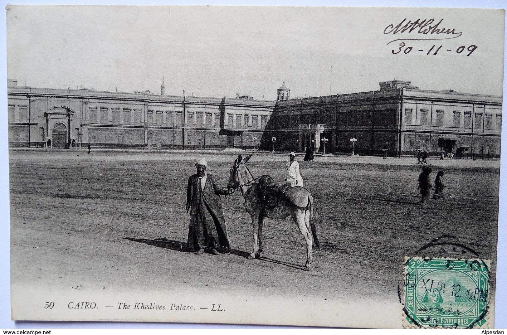 LE CAIRE. The Khedives Palace - Cairo