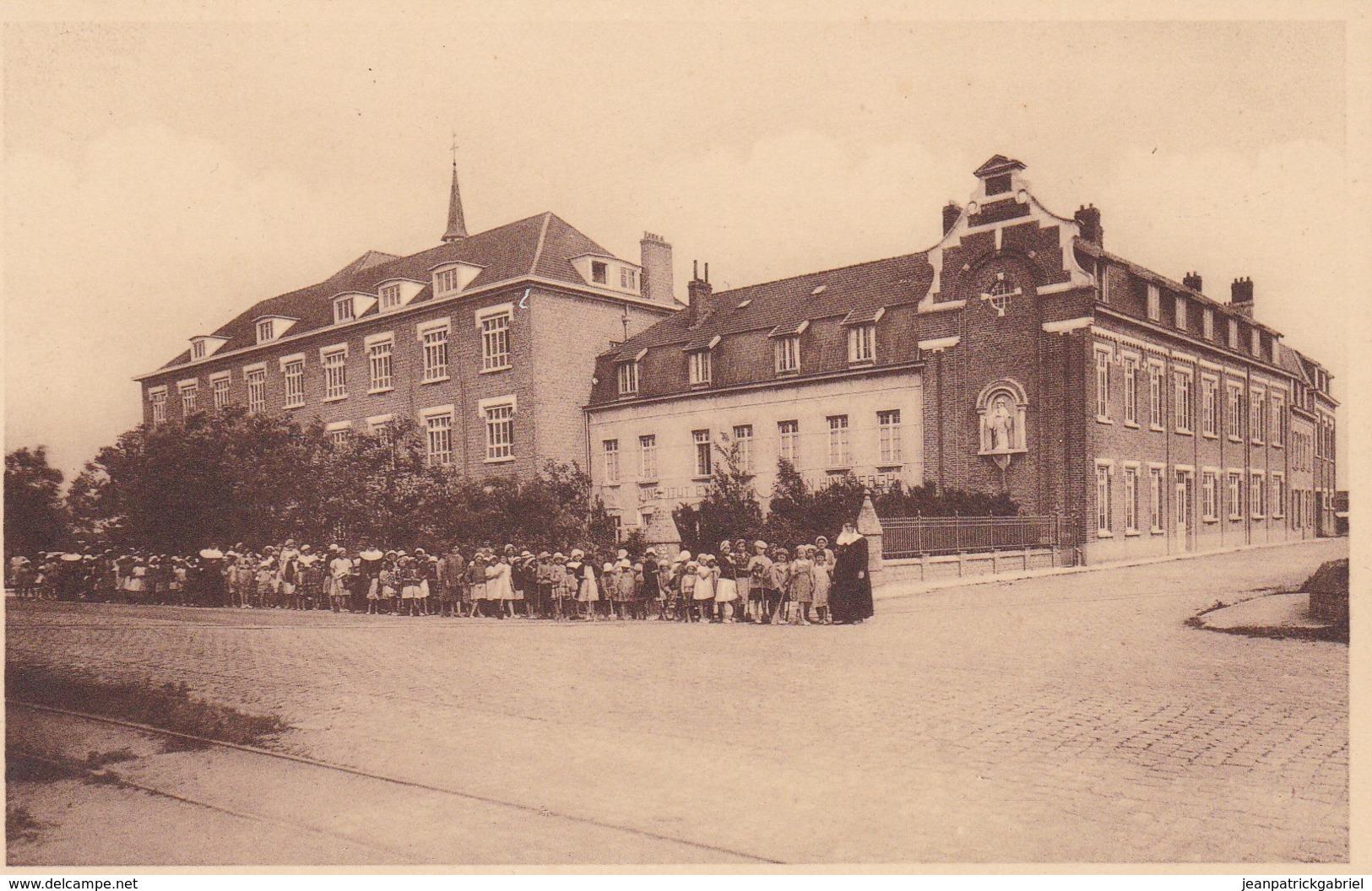 Middelkerke Institut Eymard Van Hinsbergh Op Weg Naar T Strand - Middelkerke