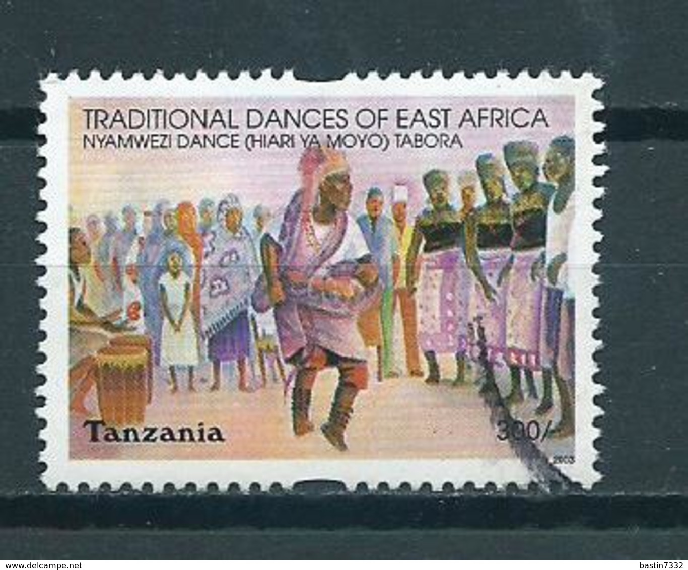2003 Tanzania Dancing Used/gebruikt/oblitere - Tanzania (1964-...)