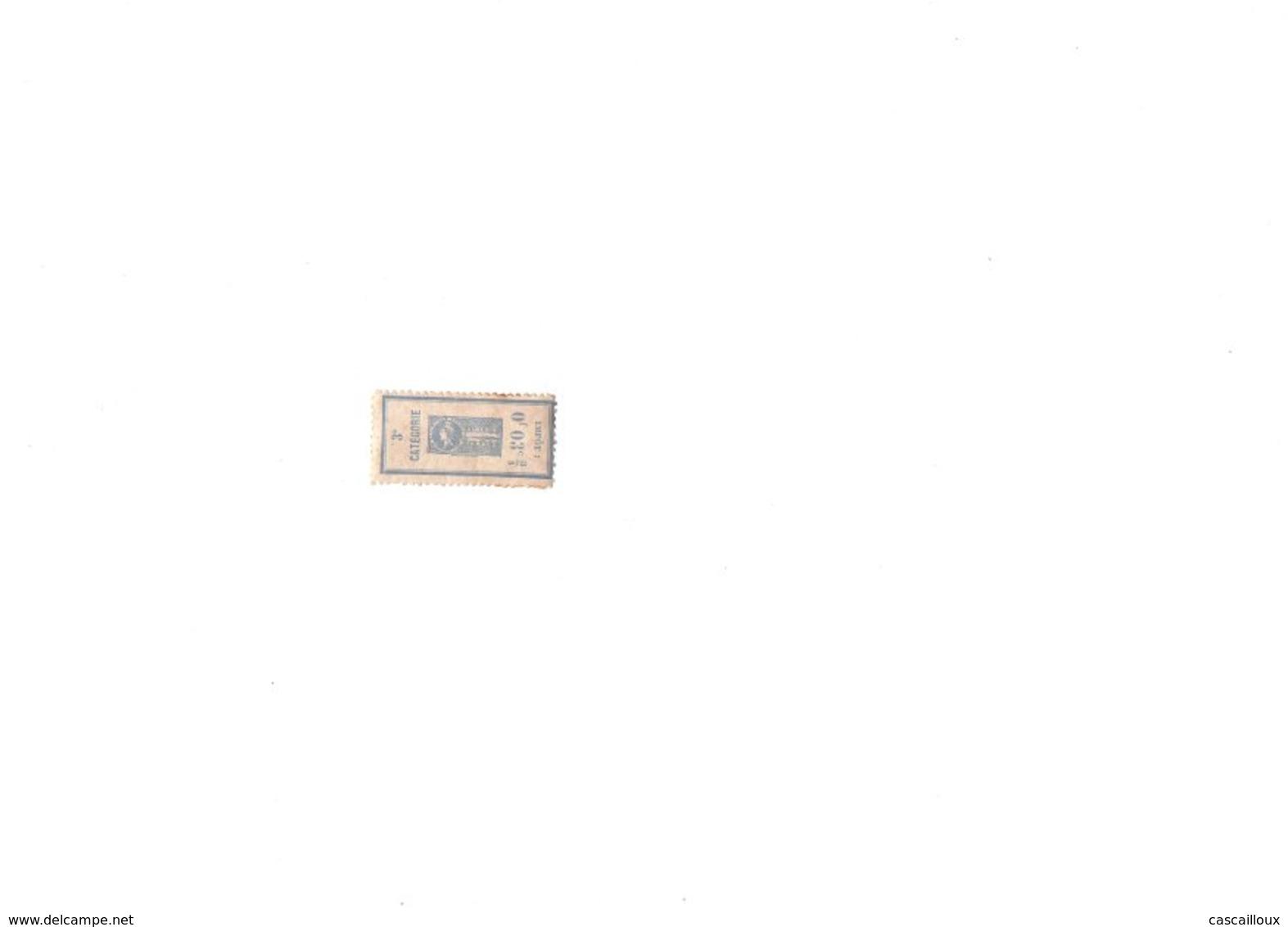 Vignette De Tabac D'algérie - Fiscale Zegels